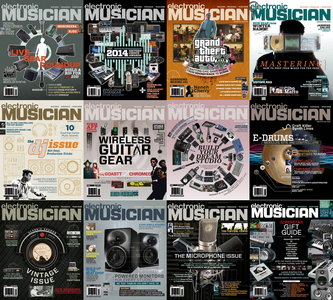 Electronic Musician - Full Year Collection 2014 free download