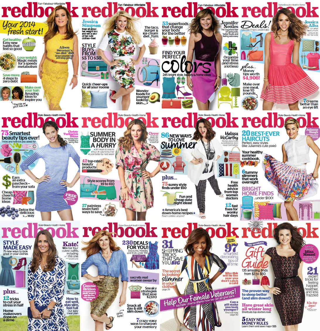 Redbook Magazine - Full Year 2014 Issues Collection free download