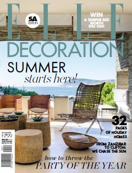 Elle Decoration South Africa - December 2014 - January 2015 free download