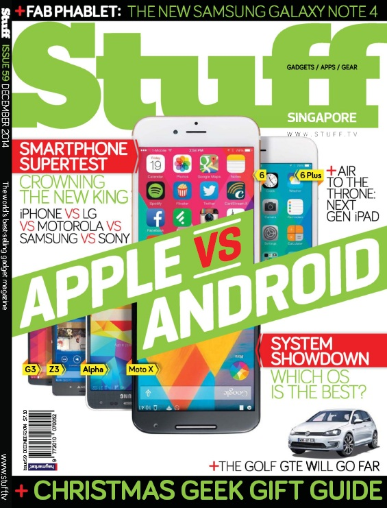 Stuff Singapore - December 2014 free download