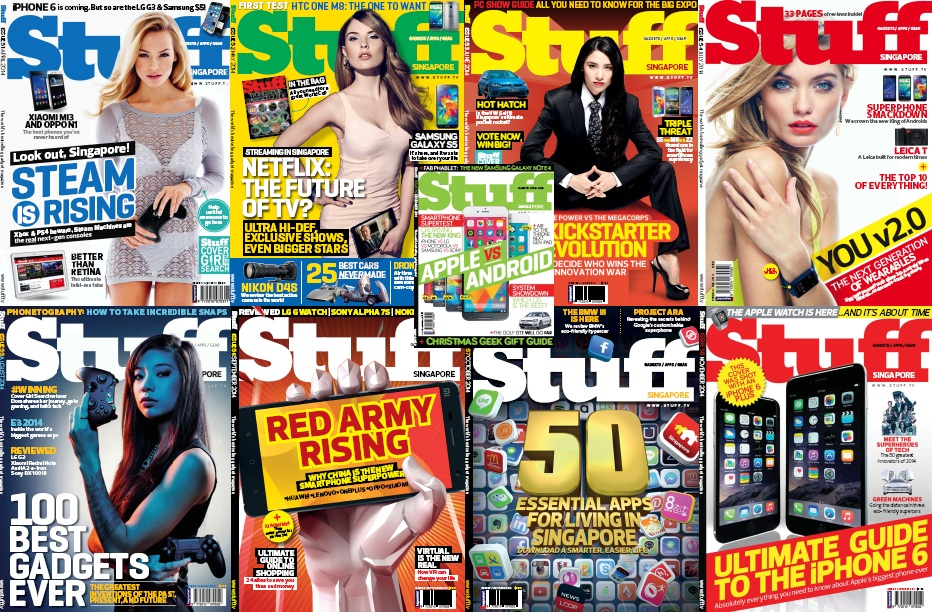 Stuff Singapore - Full Year 2014 Issues Collection free download