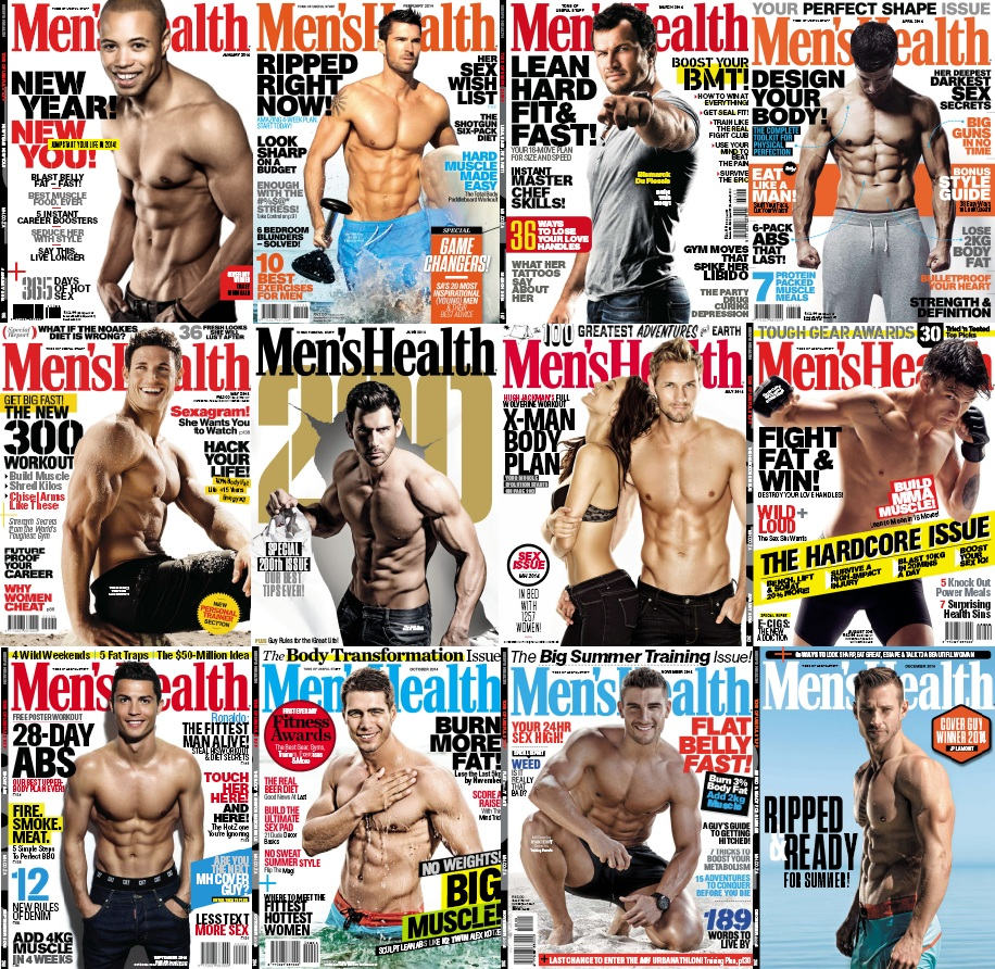 Men's Health South Africa - Full Year 2014 Issues Collection free download