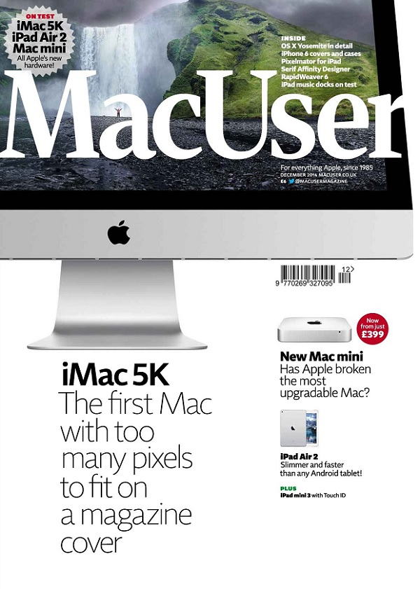 MacUser - December 2014 free download