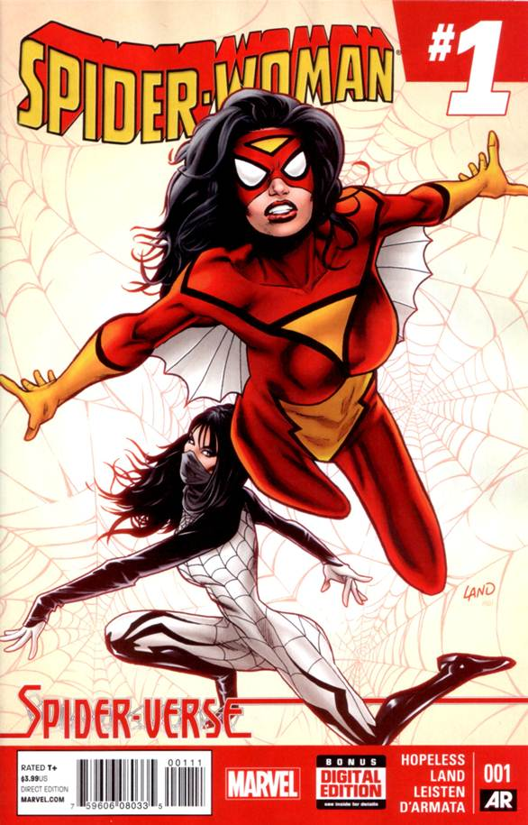 Spider-Woman #1 (2015) free download