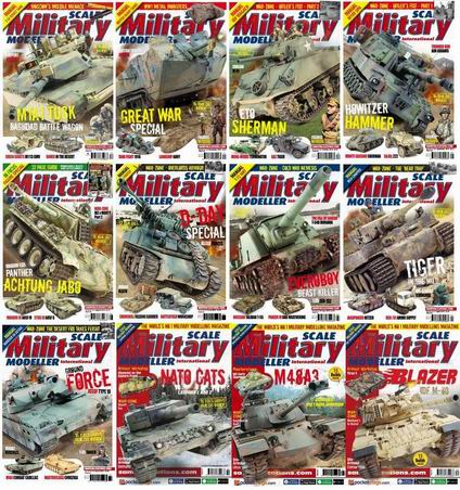 Scale Military Modeller International Magazine 2014 Full Collection free download