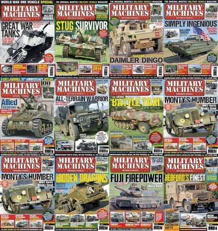 Military Machines International Magazine 2014 Full Collection free download