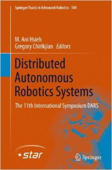 Distributed Autonomous Robotic Systems: The 11th International Symposium free download