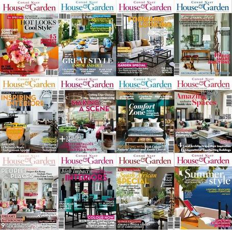 Conde Nast House & Garden Magazine 2014 Full Collection free download