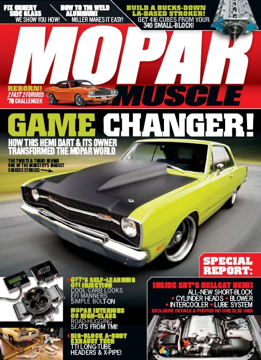 Mopar Muscle - February 2015 free download