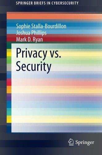 Privacy vs. Security free download