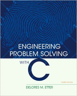 Engineering Problem Solving with C, 4 edition free download