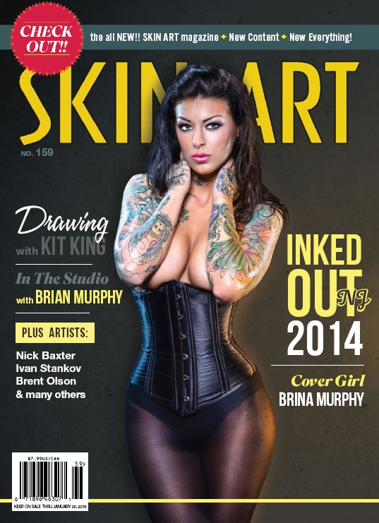 Skin Art - Issue No. 159, 2014 free download