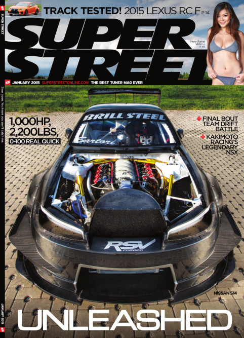 Super Street - January 2015 free download