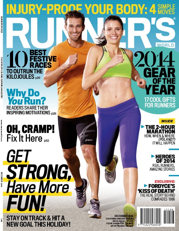 Runner's World South Africa - December 2014 download dree