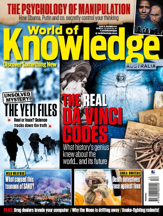World of Knowledge Magazine Australia - December 2014 free download