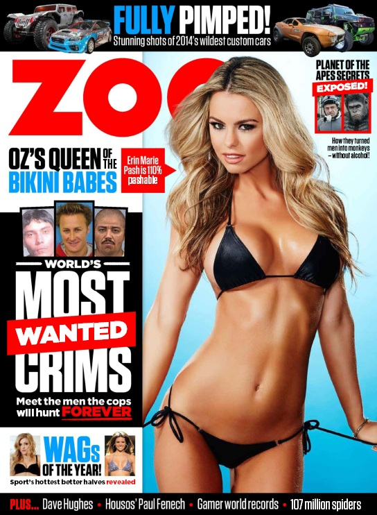 Zoo Weekly Australia - Issue 454, 2014 free download