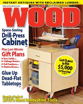 WOOD Magazine - December 2014 - January 2015 free download