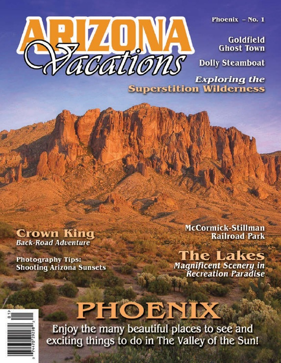 Arizona Vacations Magazine - Issue No.1 - Phoenix 2014 free download