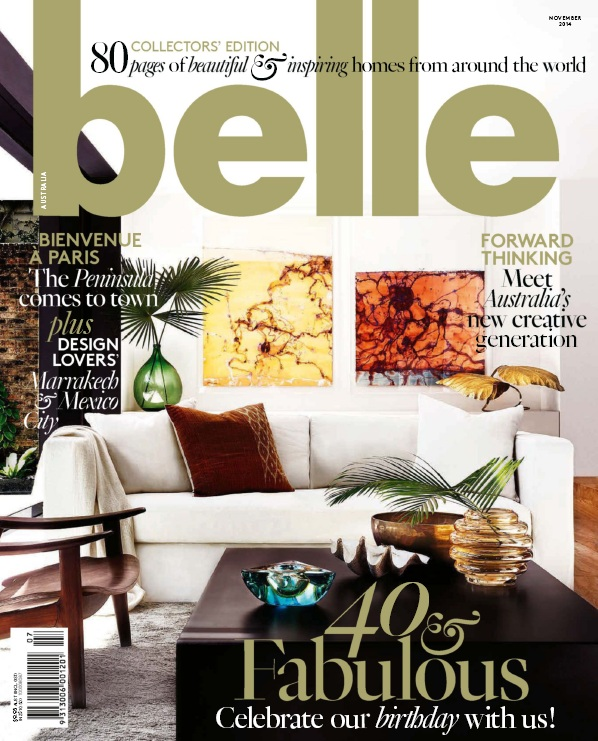 Belle Magazine Australia - November 2014 free download