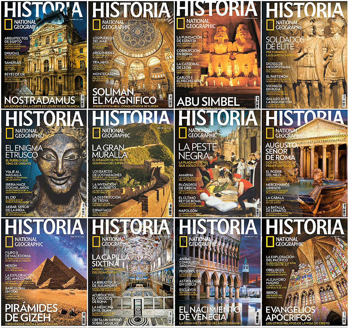 Historia National Geographic - Full Year 2014 Issues Collection free download