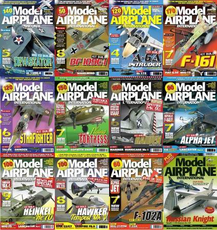 Model Airplane International Magazine 2014 Full Collection free download