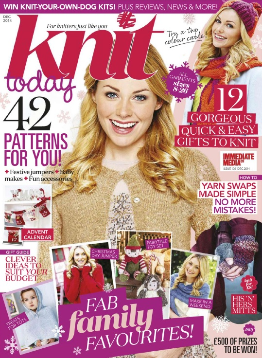 Knit Today UK - December 2014 free download