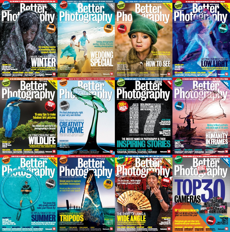 Better Photography - 2014 Full Year Issues Collection free download