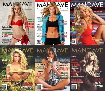 Mancave Playbabes - 2014 Full Year Issues Collection free download
