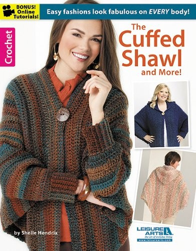 The Cuffed Shawl & More (Leisure Arts Crochet) free download