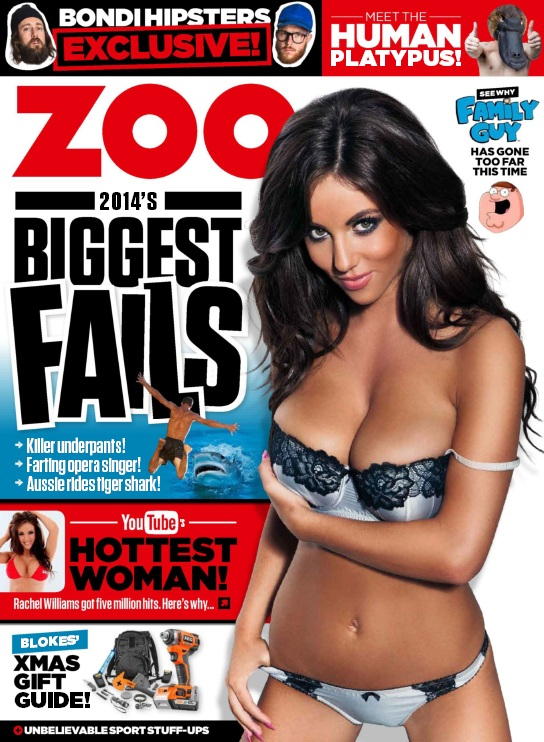 Zoo Weekly Australia - 8 December 2014 free download