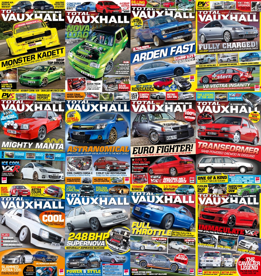 TOTAL VAUXHALL - 2014 Full Year Issues Collection free download