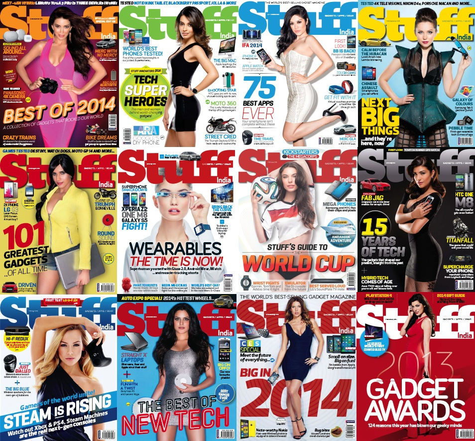 Stuff India - 2014 Full Year Issues Collection free download
