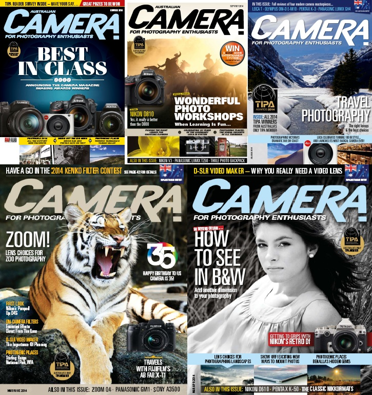 Camera - 2014 Full Year Issues Collection free download