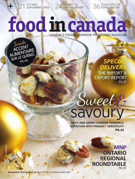 Food in Canada - November/December 2014 free download