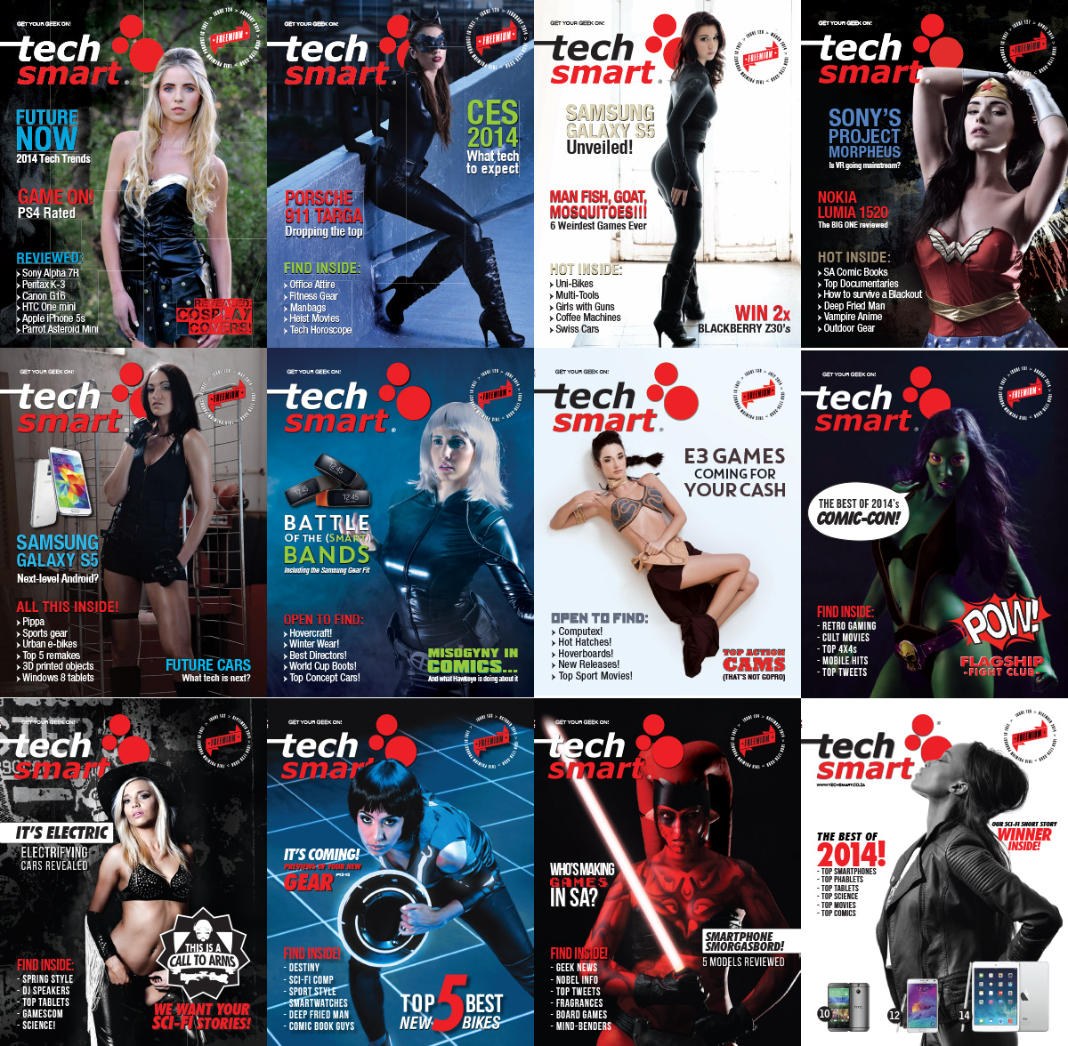 TechSmart 2014 Full Year Collection free download