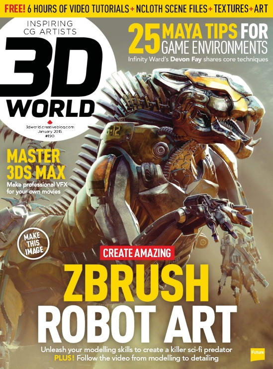 3D World UK - January 2015 free download
