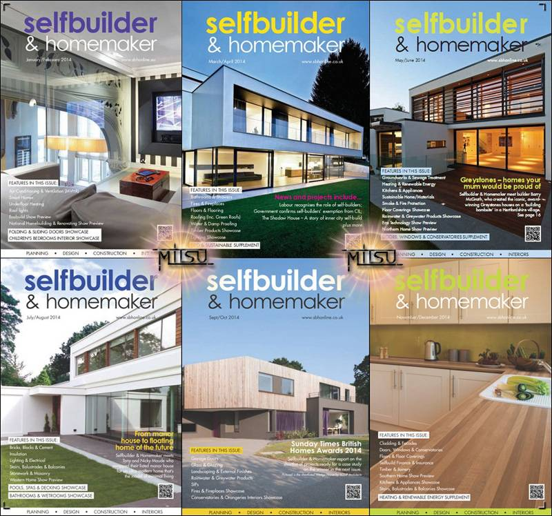 Selfbuilder & Homemaker - Full Year 2014 Issues Collection free download