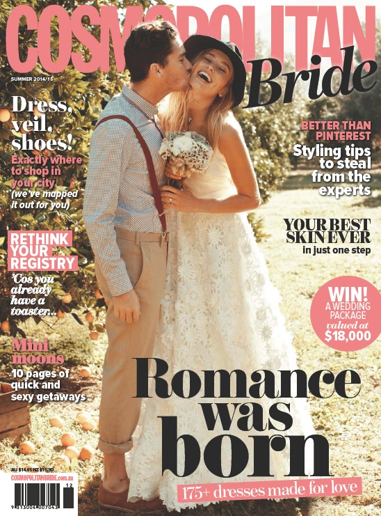 Cosmopolitan Bride Magazine Australia - Summer 2014-2015 free download