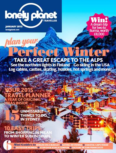 Lonely Planet Traveller Magazine January 2015 free download