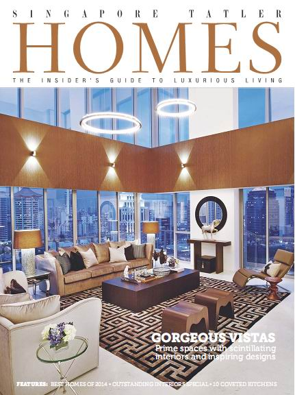 Singapore Tatler Homes Magazine December/January 2015 download dree