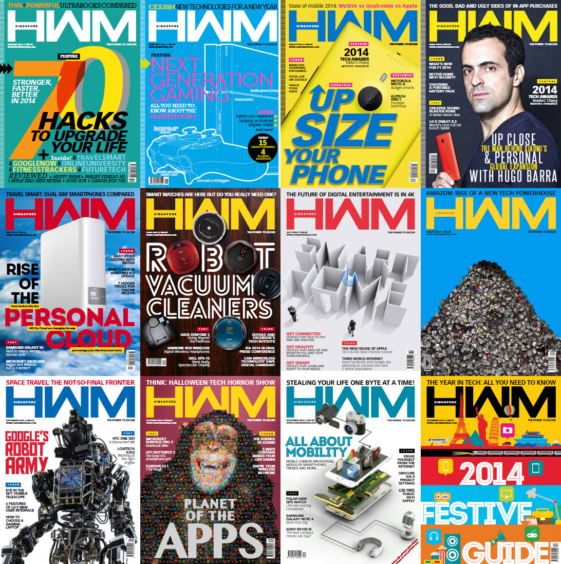 HWM Singapore Magazine - 2014 Full Year Issues Collection free download