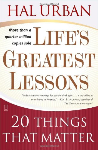 Life's Greatest Lessons: 20 Things That Matter free download