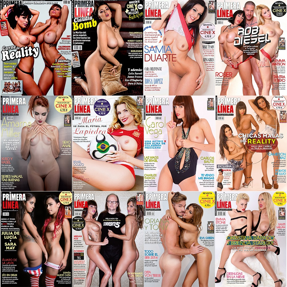 Primera Linea - Full Year 2014 Issues Collection free download