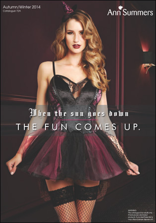 Ann Summers - Lingerie Halloween Autumn Winter Collection Catalog 2014 free download