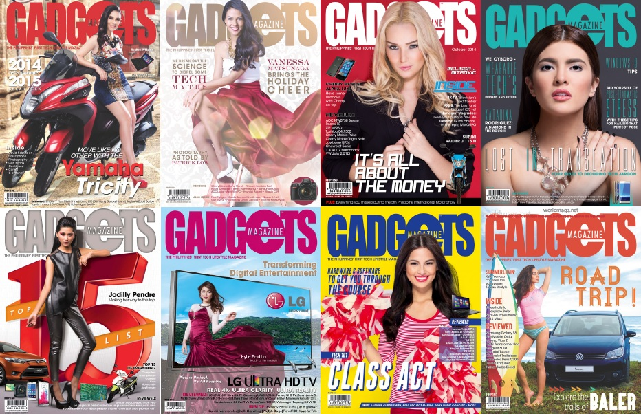 Gadgets - 2014 Full Year Issues Collection free download