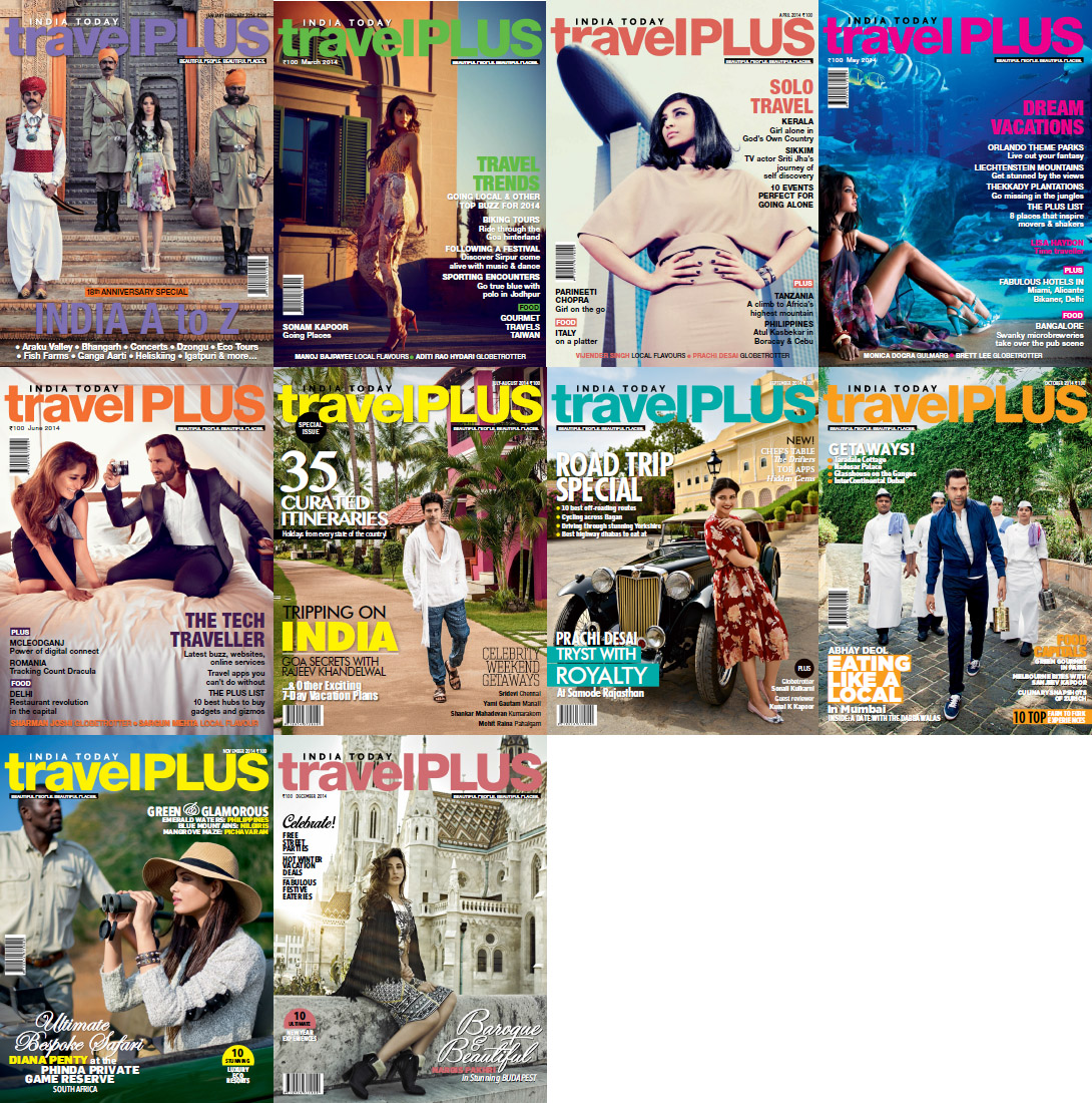 India Today Travel Plus Magazine - 2014 Full Year Issues Collection free download