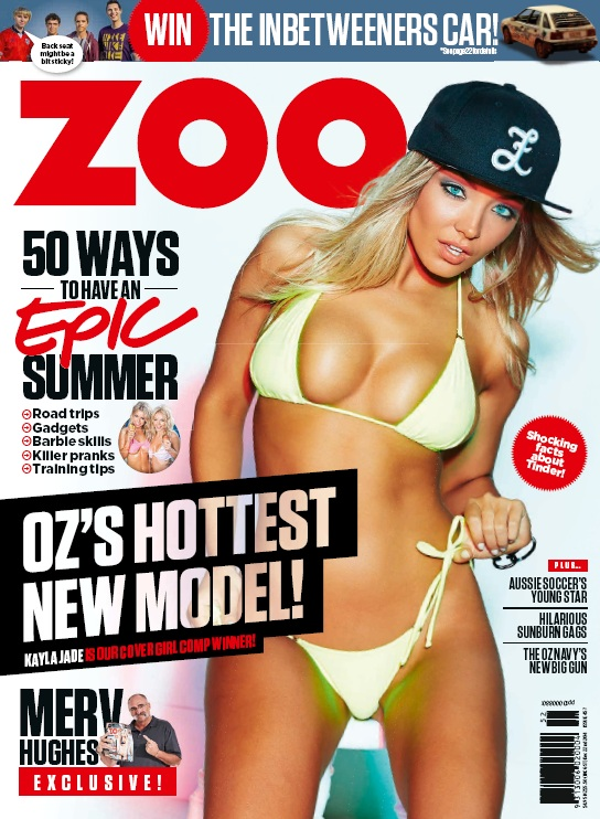 Zoo Weekly Australia - 22 December 2014 free download