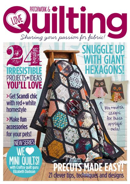 Love Patchwork & Quilting No16 2014 free download