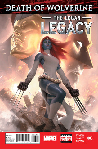 Death of Wolverine - Logan Legacy 006 (2015) free download