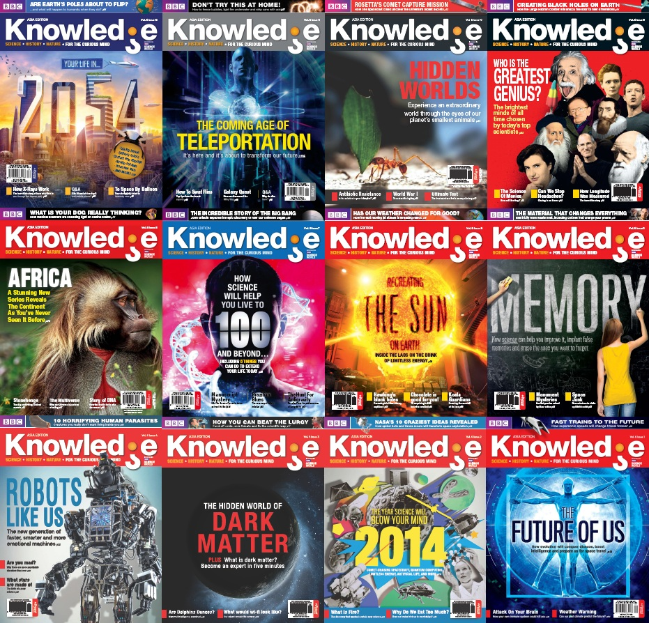 BBC Knowledge Asia Edition - 2014 Full Year Issues Collection free download